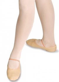 Leather Suede Sole Ballet Shoes